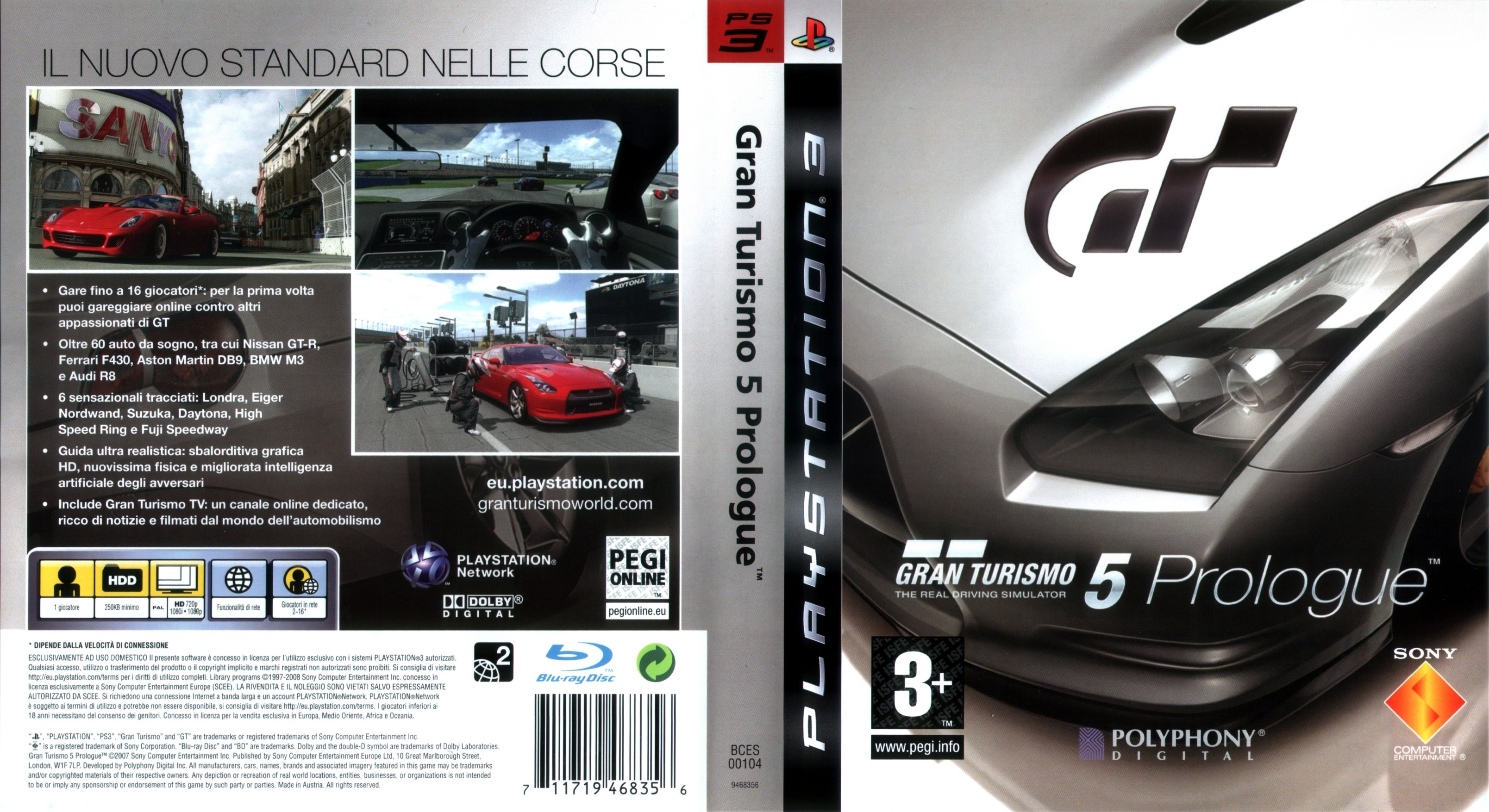 grand turismo 5 prologue ps3. Black Bedroom Furniture Sets. Home Design Ideas